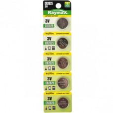 Батарейка литиевая  Raymax CR2025 3V blister card/5pcs 582978