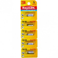 Батарейка щелочная Raymax 23A 12V blister card/5pcs 582985