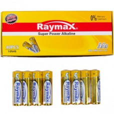 Батарейка щелочная Raymax  LR6 AM3 AA 1.5V shrink /4pcs  582879