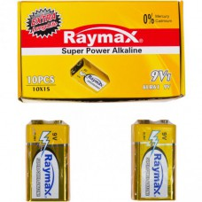 Батарейка щелочная Raymax 6LR61 9V shrink /1pcs 582862