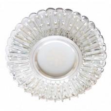 Светильник для встраивания Feron 7312B с LED подсветкой 28857