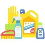 Средства для уборки ванной