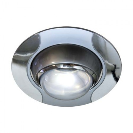 Светильник Feron 020 R-50 серый хром 17669