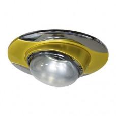 Светильник Feron 020 R-50 золото хром 17668