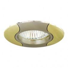 Светильник Feron 020 R-50 титан золото 17670