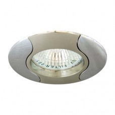 Светильник Feron 020 R-50 титан хром 17671
