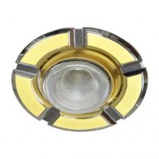 Светильник Feron 098 R-50 золото хром 17628
