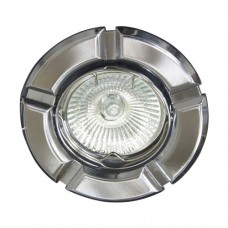 Светильник Feron 098 R-50 титан хром 17631