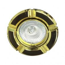 Светильник Feron 098 R-50 черный золото 17632