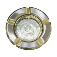 Светильник Feron 098 R-50 титан золото 17630