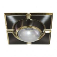 Светильник Feron 098 R-50-S черный золото 17652