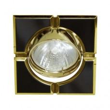 Светильник Feron 098T MR-16-S черный золото 17662
