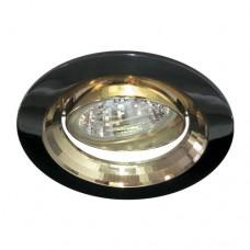Светильник Feron 1009DL черный металлик золото 17823