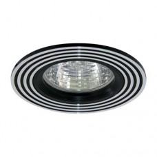 Светильник Feron CD2300 серебро/черный 18626