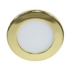Светодиодный (led) светильник Feron AL500 6W 4000К золото 28501