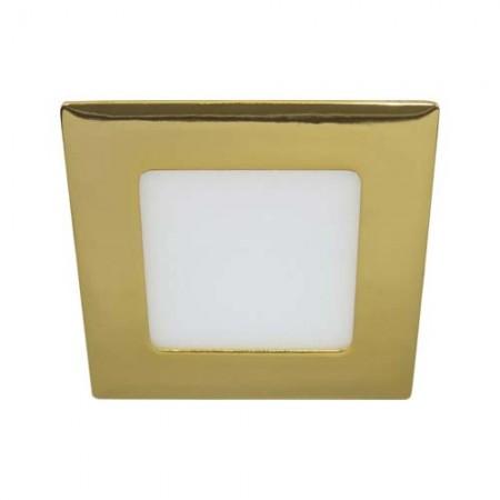 Светодиодный (led) светильник Feron AL502 6W золото 28513