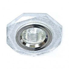 Светильник Feron 8020-2 мерцающее серебро серебро 20083