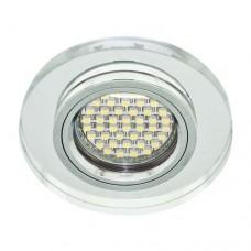Светильник для встраивания Feron 8060-2 с LED подсветкой 28490