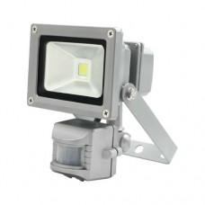 Светодиодный (led) прожектор Feron LL-831 10W с датчиком движения 12966