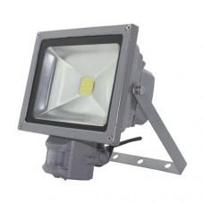 Светодиодный (led) прожектор Feron LL-834 20W с датчиком движения 12985