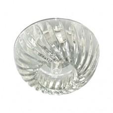 Светильник для встраивания Feron JD96 прозрачный хром 20144