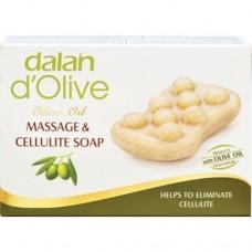 Dalan d'Olive Мыло массажное антицеллюлитное с оливковым маслом, 150г