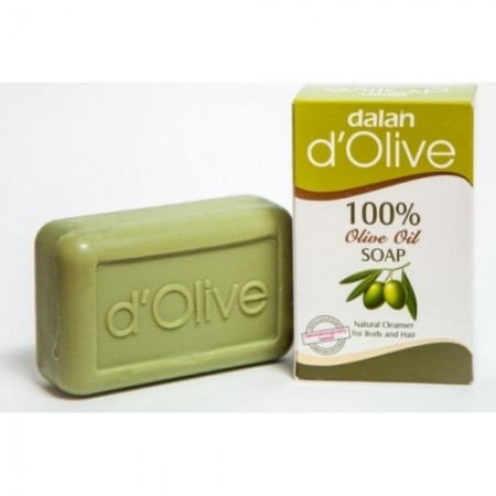 Dalan d'Olive Туалетное мыло из 100% оливкового масла, 150гр